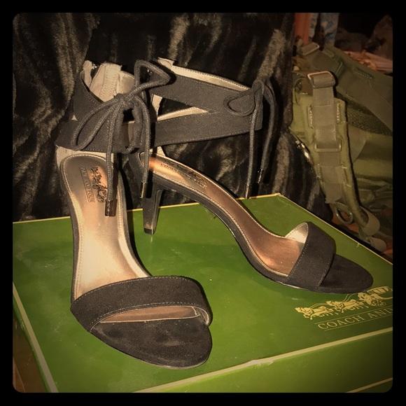 551b134eebd Classic black sandal heels